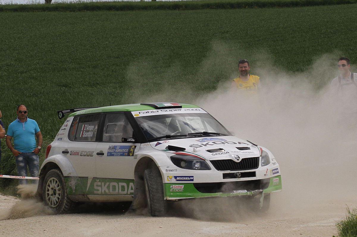 Umberto Scandola, Guido Damore (Skoda Fabia S2000 #5, Car Racing)